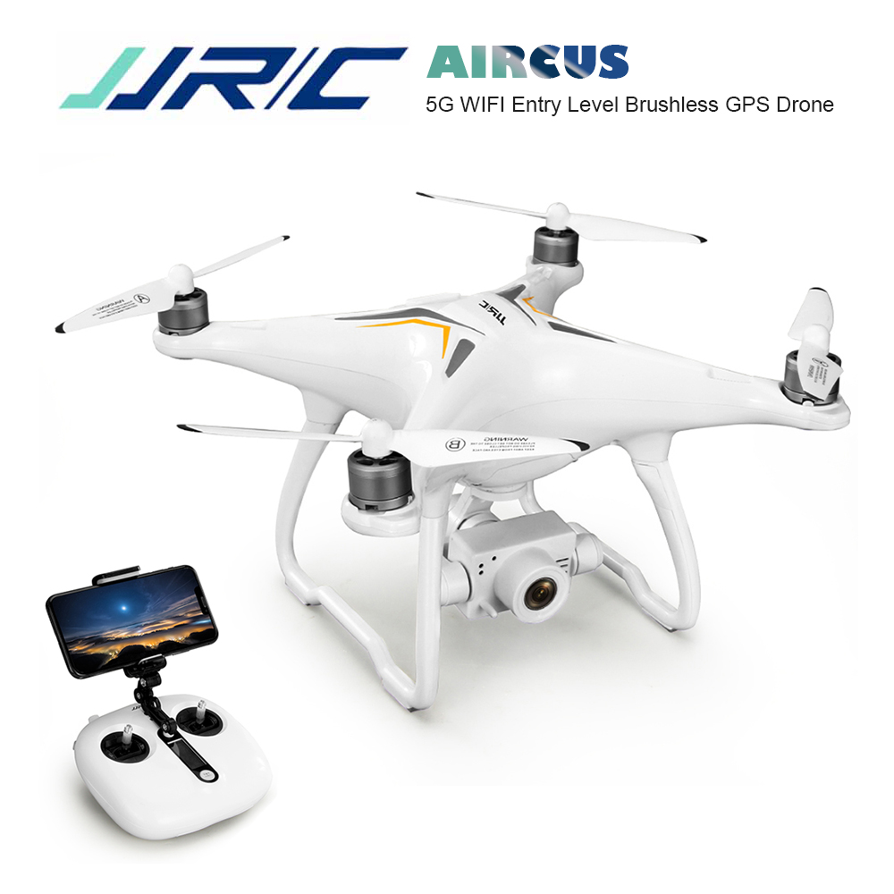 JJRC <font><b>X6</b></font> Professional GPS Brushless RC Drone WIth 5G WiFi FPV 1080P HD camera <font><b>Follow</b></font> Me Selfie Remote Control Drone Helicopter image