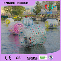 Бесплатная доставка 2.2 м ПВХ надувных шарика воды Гуляя надувной мяч шарика