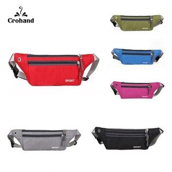 цена на Fashion unisex waist pack men waterproof fanny pack women belt bum bag waist bag male phone wallet Pouch Bags Patchwork black