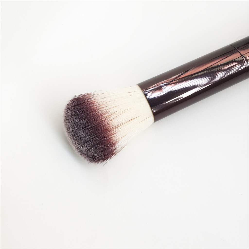 corretivo forro angular mancha retrátil kabuki maquiagem escovas conjunto