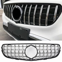 Auto Grille Racing Grills For Mercedes Benz CLC Class X253 GLC COUPE GLC63 GLC All Car 2015 2018 High Quality ABS AMG Style