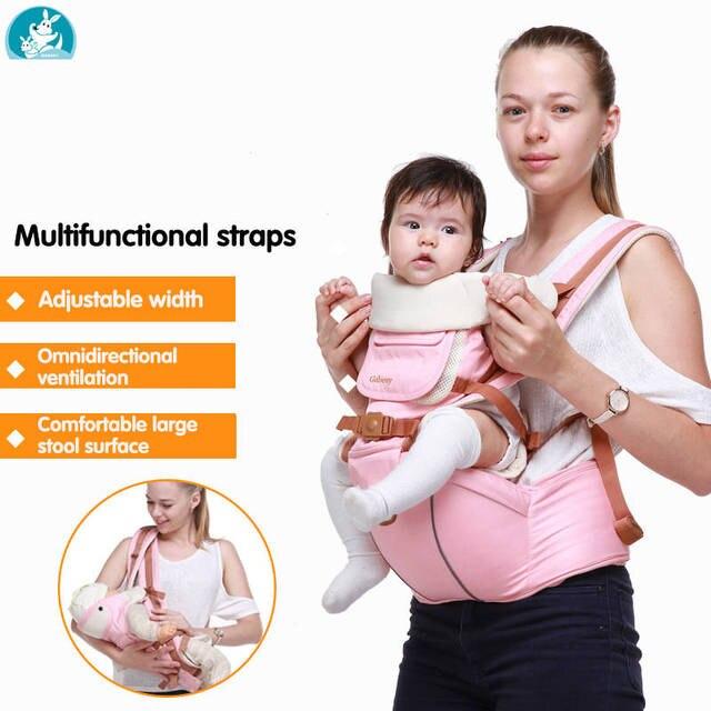 Multifunctional Breathable Baby Carrier Ergonomic Baby Sling Wrap Belt Newborn Baby Travel Strap Mother Waist Back Stool