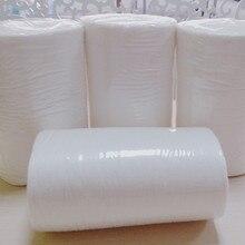 91 рулонов биоразлагаемые смываемым вискоза ткань пеленки подгузник Подставки вкладыши 100 листов в рулоне