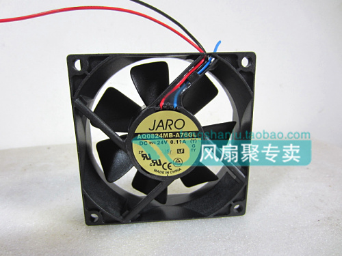 Original ADDA AQ0824MB-A76GL 8025 24V0.11A 80*80*25MM waterproof fan for 8cm sanyo new fv28025hba 8025 220v 0 15a ac condenser fan with fan for wonsan 80 80 25mm