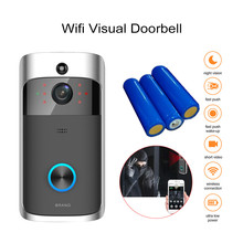 Doorbell Camera Wifi Video Door Viewer Intercom for home Security Camera Video Peephole Digital Door Bell/Phone Wireless Battery continental contivikingcontact 5 215 60 r16 99t