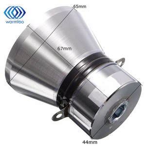 Cleaner-Parts Transducer-Cleaner 28khz Piezoelectric Ultrasonic 100W 1pcs Silvery Aluminum-Alloy