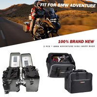 KEMiMOTO For BMW F800GS ADV Motorcycle bag luggage bags Black PVC expandable Inner Bags For BMW R1200 GS WATER COOLED 2013 2017