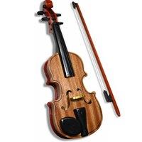 Children Musical Instrument Toys High Emulational Wooden Adjustable Strings Violin Kids Educational Simulation