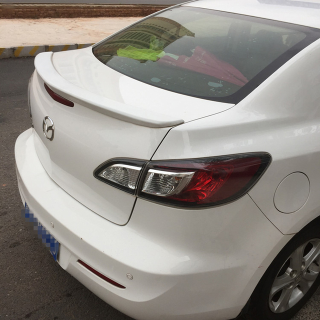 Best Price ABS Plastic Unpainted Rear Trunk Wing Decoration