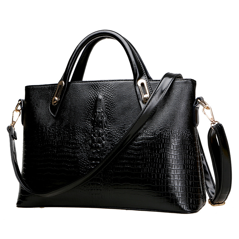 Frauen Taschen Griff Pu Business Leder Top Handtaschen cASj54LR3q