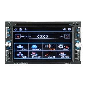 Image 2 - 6.2 بوصة والملاحة مشغل ديفيدي DVD متعددة وظيفة لاعب GPS والملاحة للسيارات المتكاملة مشغل ديفيدي 6205