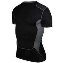 Горячий спальный летний стиль дешевого базового слоя для похудения Супер эластичный Anti-sweat Breathable Thermal Under Top Sport Shirt