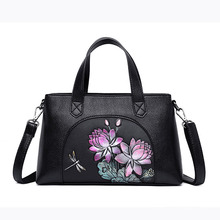 цены YILIANDesign Handbags Women's Handbags Fashion Flowers Combine High-quality Artificial Leather Office Bag