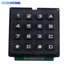 4x4 matris dizisi 16 tuşları 4*4 anahtar tuş takımı klavye tuş takımı modülü Arduino için