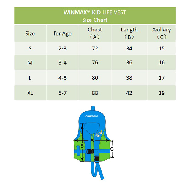 Swimming life vest for Children