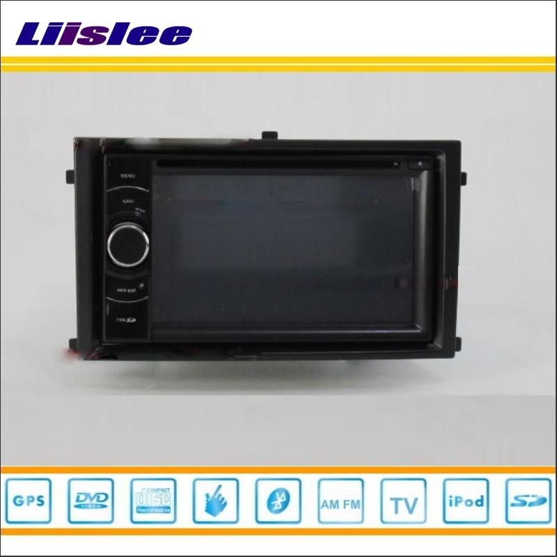 Liislee For SsangYong Rexton 2007~2012 Car Radio Stereo CD DVD Player GPS NAVI HD Touch Audio Video Map Nav Navigation System