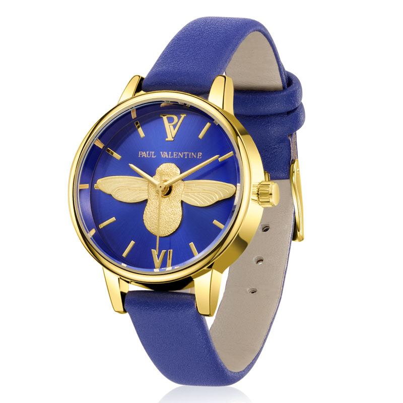цена на Fashion Women Animal High-Quality Wristwatches Brand Ladies' 3D Bee Gold Bracelet Watch Clock Relojes Mujer Hot Selling