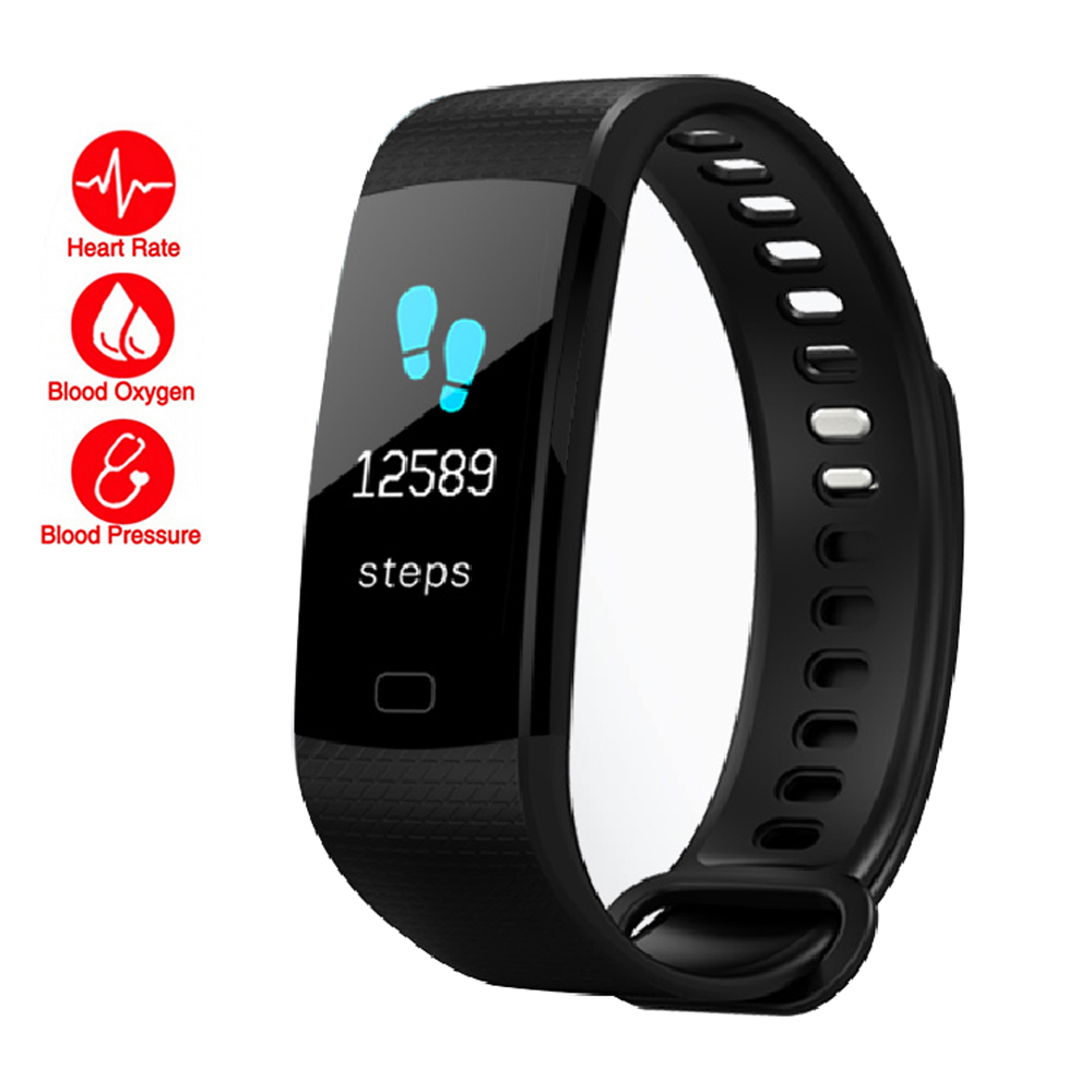 Smart Fitness Watch Men Women Pedometer Hear Rate Monitor Blood Pressure Sport Smart Wrist Watch Waterproof For IOS Android