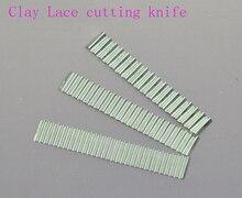 Argila Rendas corte de faca, ferramentas de argila do polímero, ferramentas para modelagem, 3 pçs/lote