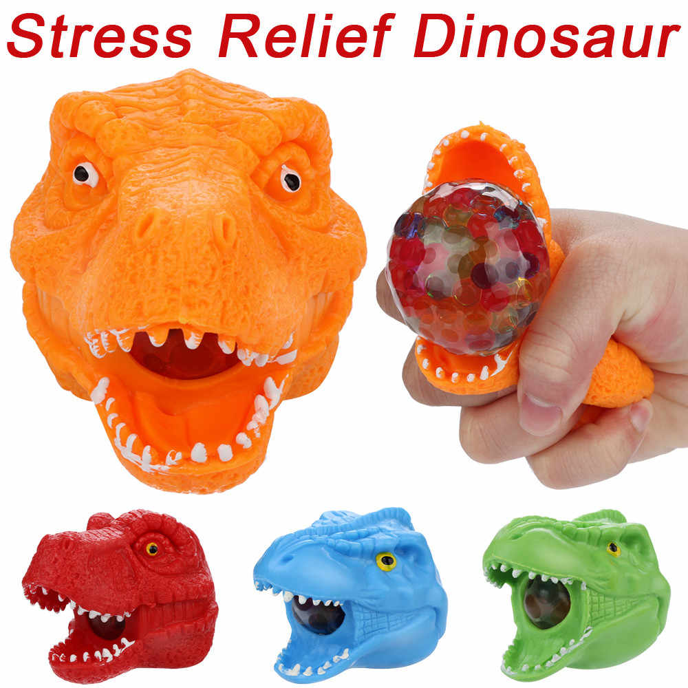 Squishy Toys Spongy Bead Rainbow Ball Toy Squeeze Squishies Toy Stress Relief  Dinosaur Smooshy Mushy Toy Poopsie Slime Surprise