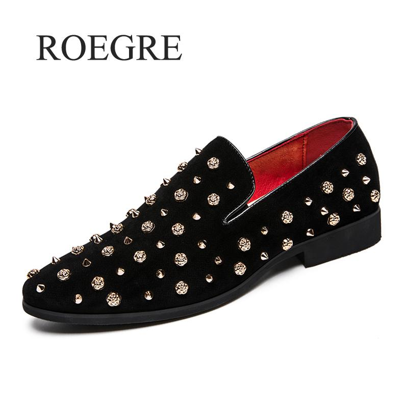 Luxury Brand Men Loafers Silver Black Diamond Rhinestones Spiked Loafers Rivets Shoes Red Bottom Wedding Party Shoes Casual Shoe