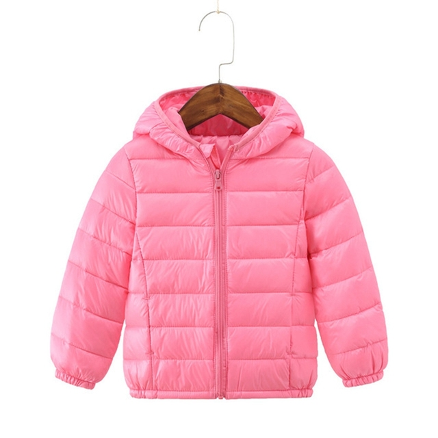 f2da5ddee US $14.0 45% OFF|Children's Winter Jackets Down Coat For Girl Hooded  Outwear Boys White Duck Down Jacket Teenage Parka Kids Padded Clothes  TZ319-in ...