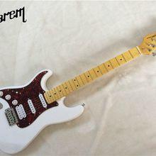 Электрогитара/ Белый цвет левая рука электрогитара/Гитары в Китае