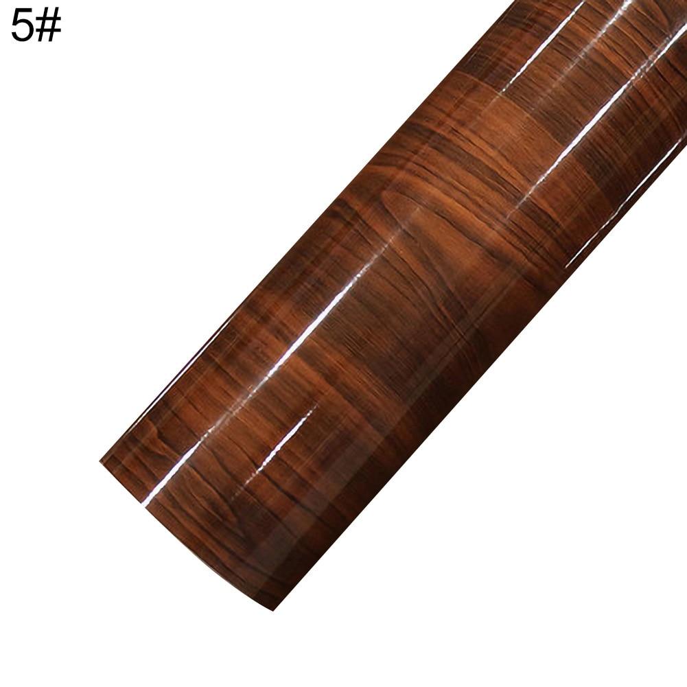 30 см x 100 см деревянная текстура автомобиля-Стайлинг изменение цвета внутренняя упаковка Наклейка Лист пленка Декор - Название цвета: 5