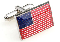 The American Flag Red Exquisite SquareFrench Cufflinks Fancy Men S Wedding Shirt Suit Cuff Links155880