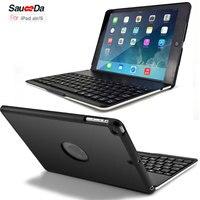 Wireless Bluetooth Keyboard Case For Ipad Air Slim Aluminum Smart Dock Flip Cover For IPad 5