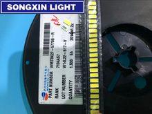 2000 pces wooree led 7030 led tv backlight de alta potência 1w 6v led backlight branco fresco para led tv lcd retroiluminação aplicação