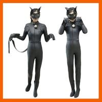 MIRACULOUS LADYBUG JUMPSUITE ADRIEN AGRESTE BLACK CAT NOIR CAT SUIT COSPLAY COSTUME HALLOWEEN FANCY CLOTHES