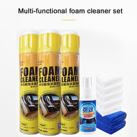 Car interior cleaning artifact strong decontamination cleaning multifunctional foam car wash liquid universal