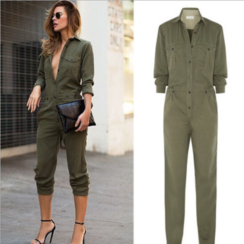 Popular Womens Green Jumpsuit-Buy Cheap Womens Green Jumpsuit lots ...