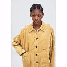 2018 jacket casaco feminino england style single breasted pockets solid jackets women bomber jacket plus size