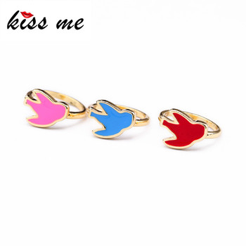 New Styles 2017 Fashion Jewelry Swallow Gold Color Rigns image