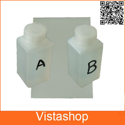 Hydrographic Activator A and B each 100ml + 10pcs A4 Hydrographic Film For Water Transfer Printing Film For Water Printing 500ml activator b 10 pcs a4 size hydrographic film hydrographic film activator for water printing