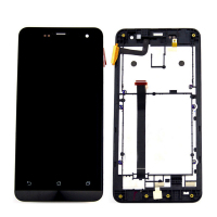 For Asus Zenfone 5 A500CG Lcd Display With Touch Screen Digitizer Assembly With Frame 1 Piece
