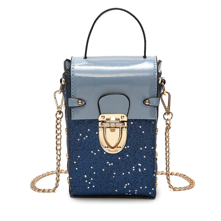 Fashion Sequin Ladies Handbags Multi-layer Shoulder Chain Handbags Small Diamond Messenger Clutch Bags In Many Styles Luggage & Bags Shoulder Bags