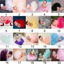 Одежда для новорожденных девочек; комплект с юбкой; реквизит для фотосессии; юбка-пачка+ повязка на голову; комплект одежды; 88