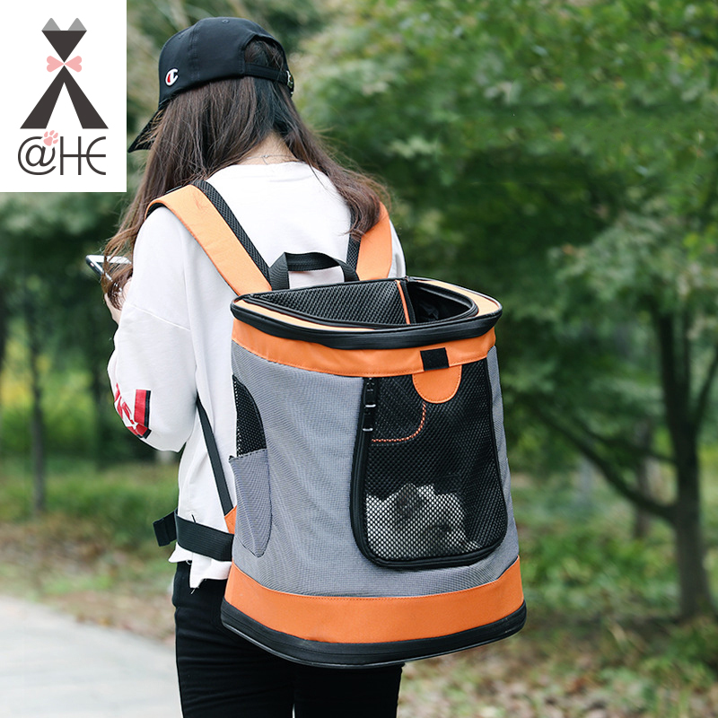 HE New Breathable Dog Cat Pet Carrier Cats and Dogs Outdoor Products Portable Travel Shoulder