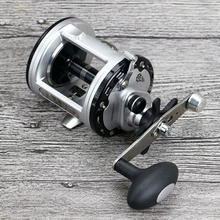 Trolling Reel Fishing 12+1BB Drum wheel carp Reels Centrifugal Brake Casting Sea Fishing Reel Saltwater Baitcasting Reel Coil