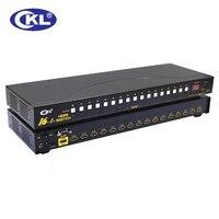 10 шт./лот Авто Hdmi переключатель 16 Порта в 1 с ИК пульт дистанционного Управления RS232 Поддержка 3D 1080 P EDID Автоматическое Обнаружение Стойку
