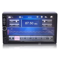 7'' 2 DIN In Dash LCD HD Bluetooth Touch Screen Car Stereo Radio MP4 Player AUX with LED/LCD Colorful Display