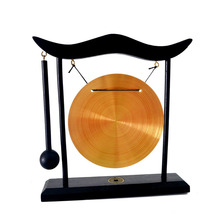 Brass Feng Shui Desktop Dragon Gong For Decor Gift