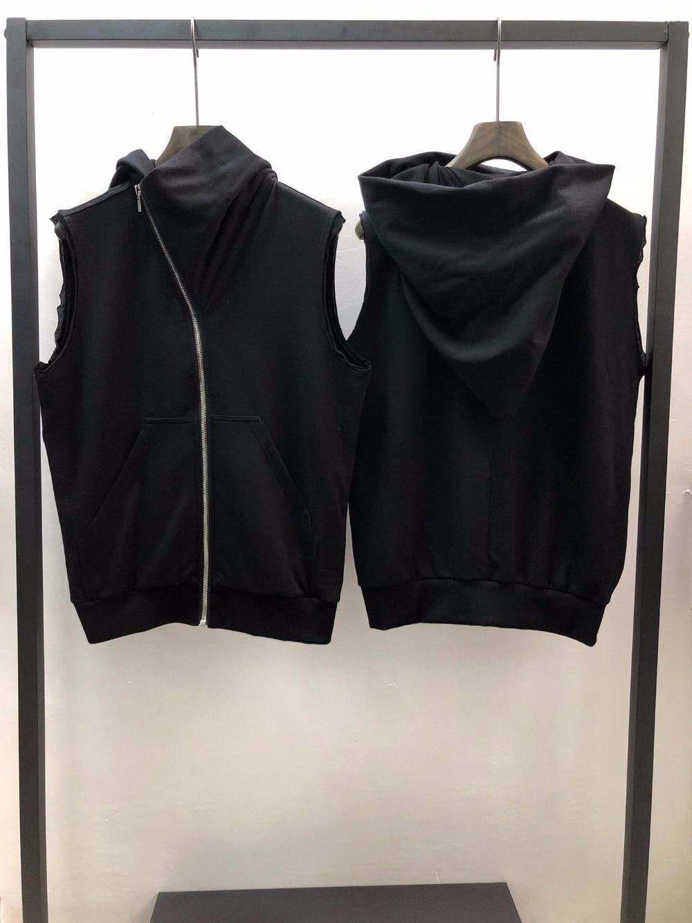 Owen seak mężczyzn bluzy bluzy Gothic Ro styl odzież męska klasyczne wiosna kobiety stałe czarne bluzy z kapturem bluzy rozmiar XL w Bluzy z kapturem i bluzy od Odzież męska na  Grupa 1