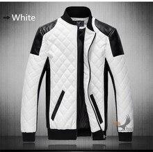 2016 mode stehen kragen motorrad jacke kleidung männer lederjacke plus größe 6XL männer wasser waschen ledermantel