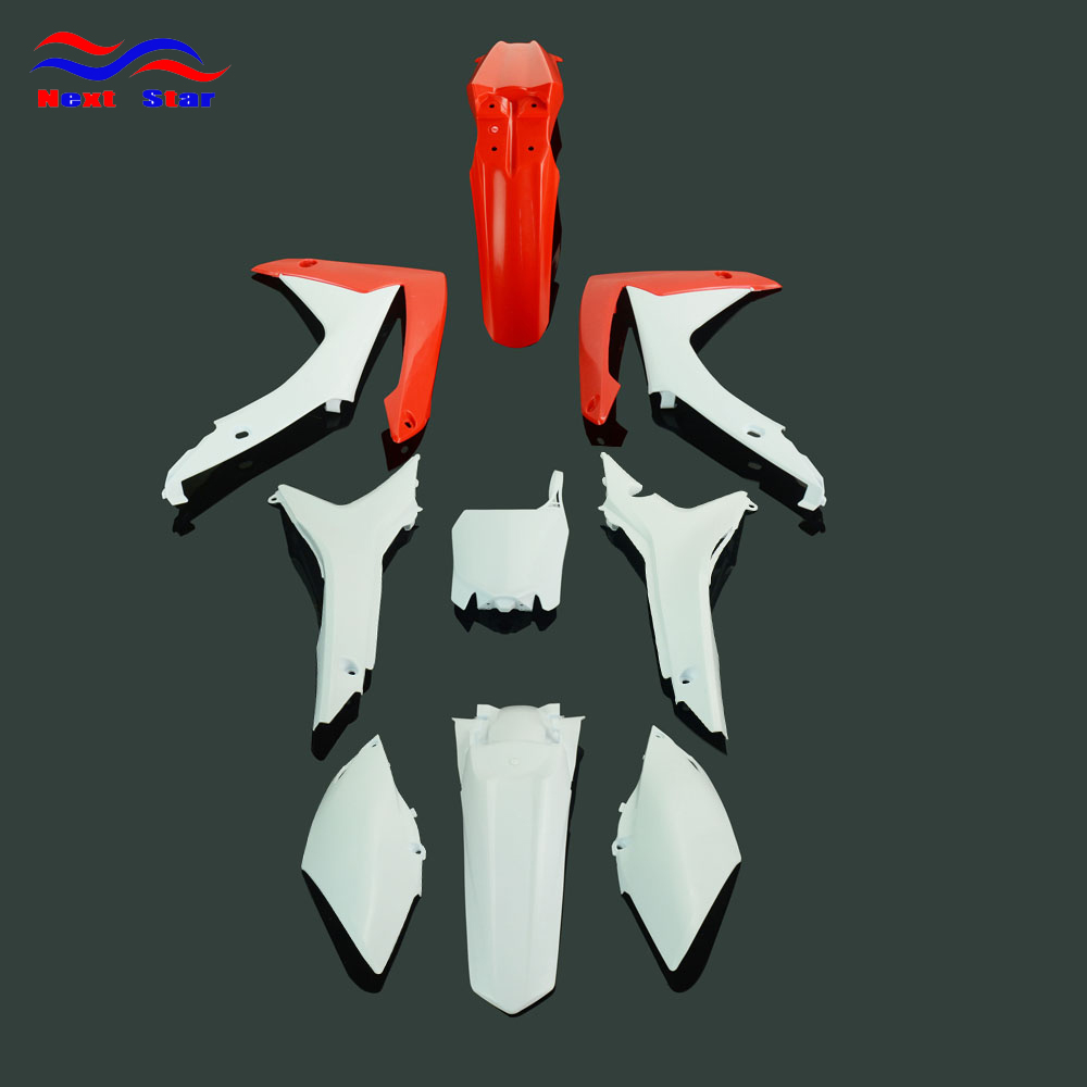 Motorcycle Fairing <font><b>Plastic</b></font> Fender Body Kit For HONDA CRF250R 2014-2017 CRF450R 2013-2016 <font><b>CRF</b></font> 250R 450R 250 <font><b>450</b></font> R image