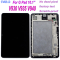 STARDE LCD Per LG G Pad 10.1 V930 V935 V940 Display LCD Touch Screen Digitizer Assembly con Telaio