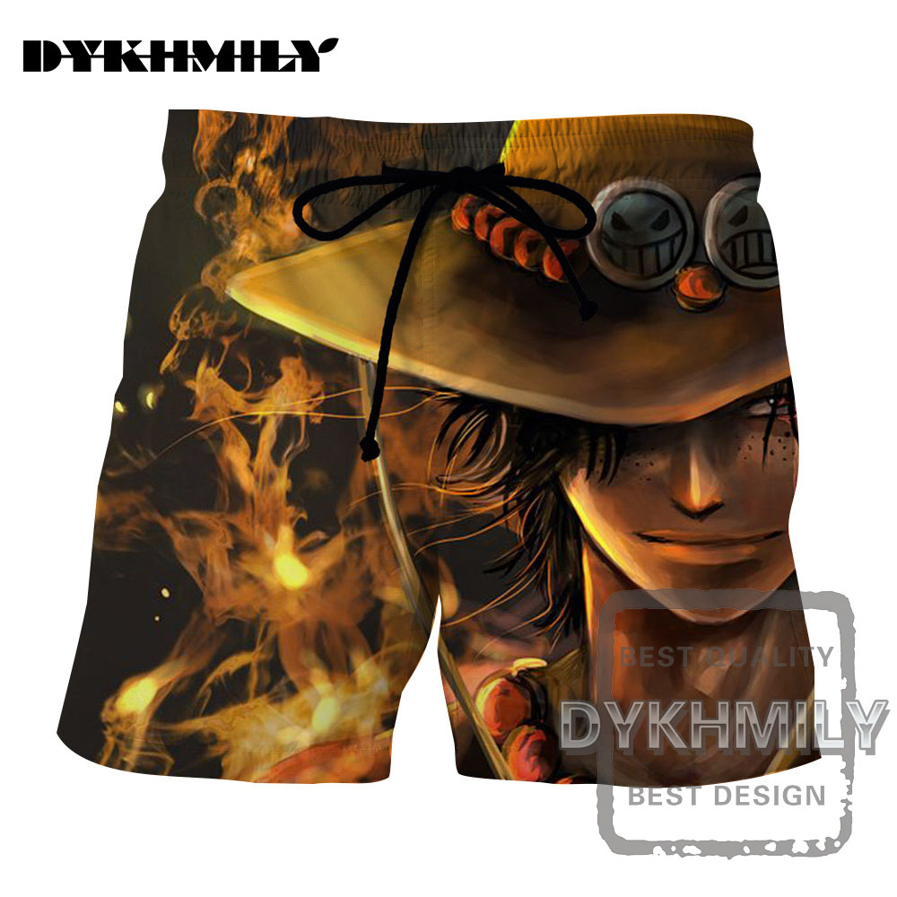 Dutiful Dykhmily 2017 Summer New Arrival One Piece Yellow Hat Freckles Yellow Smoke 3d Print Beach Short Pants Cool Board Shorts Men Quality First Men's Clothing